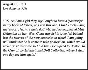 Miss Columbia Quote Homeward Bound