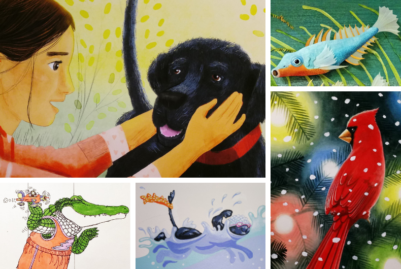 NEW EXHIBIT:  Artsy Animals  - Opens December 8