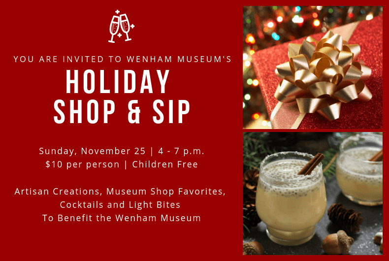 Holiday Shop & Sip