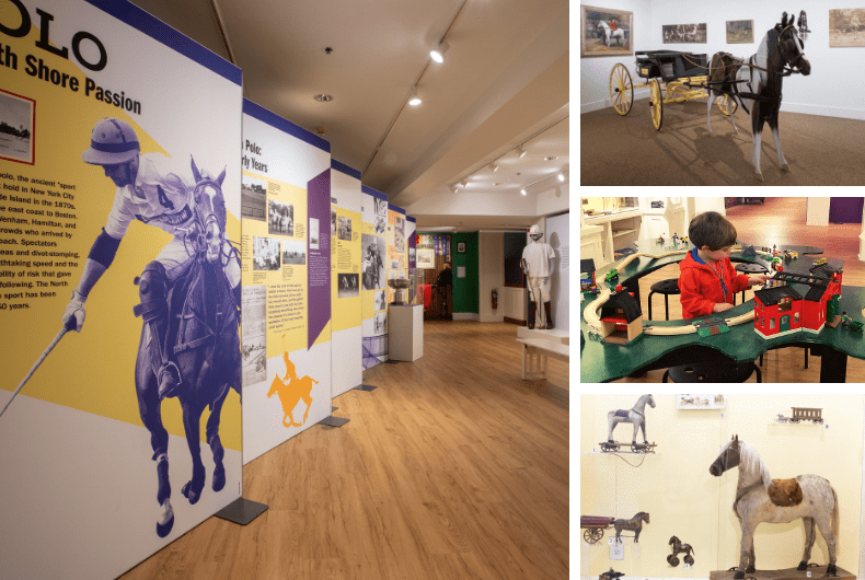 NEW EXHIBIT:  Equestrian Histories