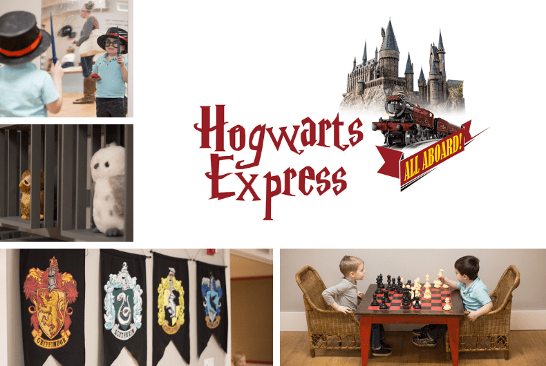 Train Time:  Hogwarts Express - Opens November 10