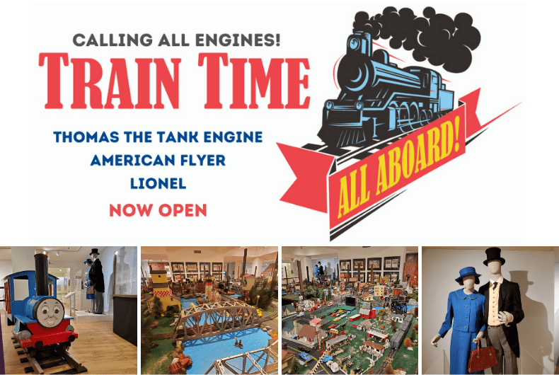 CLOSING MAY 1: Calling All Engines! Train Time